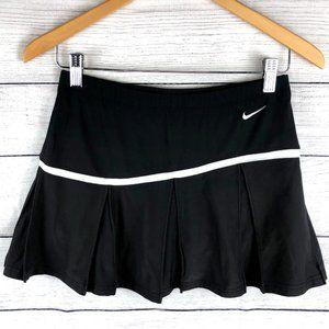 Nike | Black Dry Fit Pleated Mini Tennis Skort